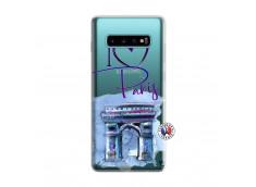 Coque Samsung Galaxy S10 I Love Paris, i love Arc de Triomphe