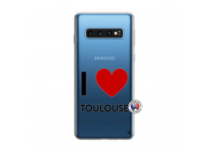 Coque Samsung Galaxy S10 I Love Toulouse