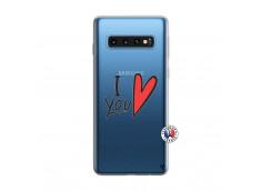 Coque Samsung Galaxy S10 I Love You