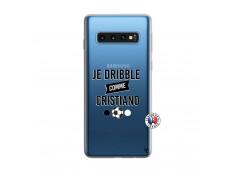 Coque Samsung Galaxy S10 Je Dribble Comme Cristiano