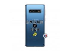 Coque Samsung Galaxy S10 Je M En Bas Les Olives
