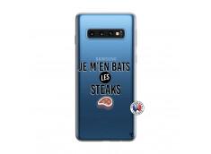 Coque Samsung Galaxy S10 Je M En Bas Les Steaks