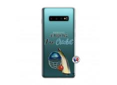 Coque Samsung Galaxy S10 Je peux pas j'ai cricket