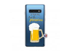 Coque Samsung Galaxy S10 Je peux pas J'ai la Pression