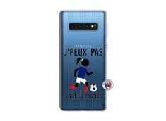 Coque Samsung Galaxy S10 Je Peux Pas J Ai Les Bleues Maillot