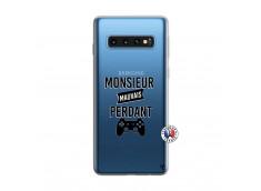 Coque Samsung Galaxy S10 Monsieur Mauvais Perdant
