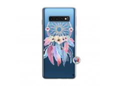Coque Samsung Galaxy S10 Multicolor Watercolor Floral Dreamcatcher