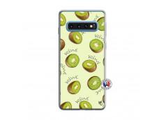 Coque Samsung Galaxy S10 Sorbet Kiwi Translu