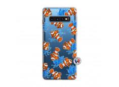 Coque Samsung Galaxy S10 Poisson Clown
