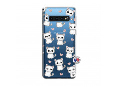 Coque Samsung Galaxy S10 Petits Chats