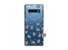 Coque Samsung Galaxy S10 Petits Hippos