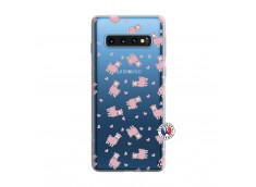 Coque Samsung Galaxy S10 Petits Moutons