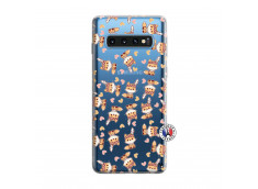 Coque Samsung Galaxy S10 Petits Renards