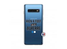Coque Samsung Galaxy S10 Rien A Foot Allez Auxerre