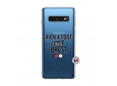 Coque Samsung Galaxy S10 Rien A Foot Allez Brest