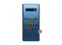 Coque Samsung Galaxy S10 Rien A Foot Allez Guingamp