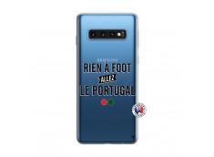Coque Samsung Galaxy S10 Rien A Foot Allez Le Portugal