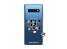 Coque Samsung Galaxy S10 Rien A Foot Allez Liverpool