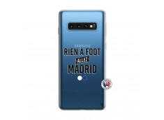 Coque Samsung Galaxy S10 Rien A Foot Allez Madrid