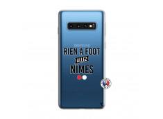 Coque Samsung Galaxy S10 Rien A Foot Allez Nimes