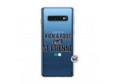 Coque Samsung Galaxy S10 Rien A Foot Allez St Etienne