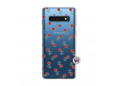 Coque Samsung Galaxy S10 Rose Pattern