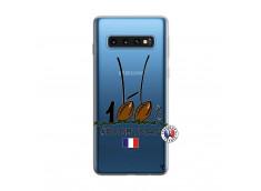 Coque Samsung Galaxy S10 100 % Rugbyman Entre les Poteaux