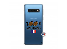 Coque Samsung Galaxy S10 100% Rugbyman