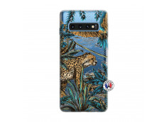 Coque Samsung Galaxy S10 Leopard Jungle