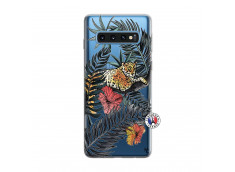 Coque Samsung Galaxy S10 Leopard Tree