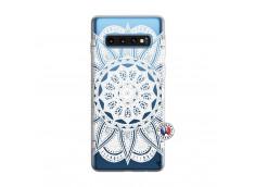 Coque Samsung Galaxy S10 White Mandala