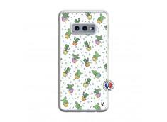 Coque Samsung Galaxy S10e Le Monde Entier est un Cactus Translu