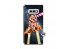 Coque Samsung Galaxy S10e Cat Pizza Translu