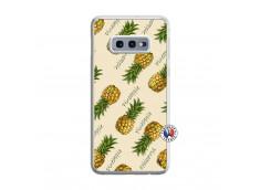 Coque Samsung Galaxy S10e Sorbet Ananas Translu