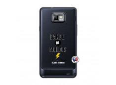 Coque Samsung Galaxy S2 Bandes De Moldus