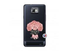 Coque Samsung Galaxy S2 Bouquet de Roses