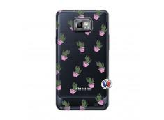 Coque Samsung Galaxy S2 Cactus Pattern