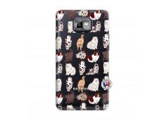 Coque Samsung Galaxy S2 Cat Pattern