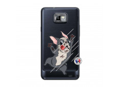 Coque Samsung Galaxy S2 Dog Impact