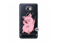Coque Samsung Galaxy S2 Pig Impact