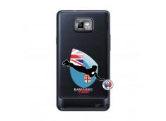 Coque Samsung Galaxy S2 Coupe du Monde Rugby Fidji
