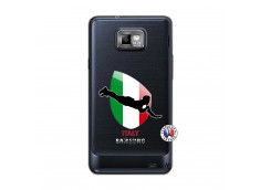 Coque Samsung Galaxy S2 Coupe du Monde Rugby-Italy