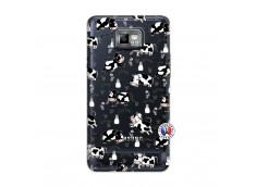 Coque Samsung Galaxy S2 Cow Pattern