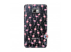 Coque Samsung Galaxy S2 Flamingo