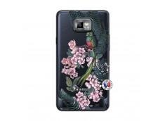 Coque Samsung Galaxy S2 Flower Birds