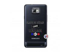 Coque Samsung Galaxy S2 Frappe De Batard Comme Benjamin