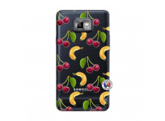 Coque Samsung Galaxy S2 Hey Cherry, j'ai la Banane