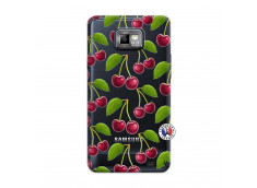 Coque Samsung Galaxy S2 oh ma Cherry