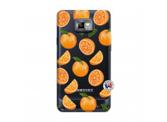Coque Samsung Galaxy S2 Orange Gina