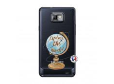 Coque Samsung Galaxy S2 Globe Trotter